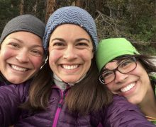 A trail of three sisters
