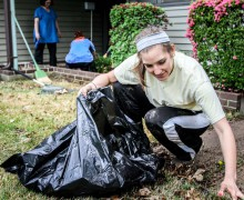 Students help the community through annual day of service