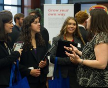Harding hosts Meet the Firms event