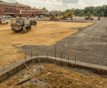 More parking coming soon at Harding