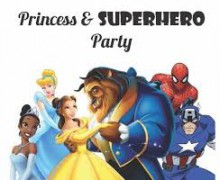 Princess and superhero party set for Jan. 31