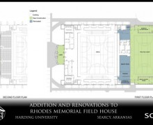 Board chairman and wife give $1 million to Rhodes construction project