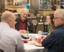 ASI hosts Breakfast with a Veteran event