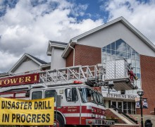 Disaster drill held April 6