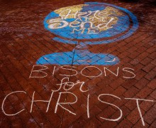Students serve in 10th annual Bisons for Christ