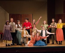 Theatre students present opera scenes