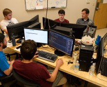 Students develop software for law enforcement