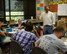 STEM Center hosts workshop for area teachers