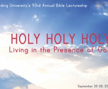 93rd annual Bible Lectureship focuses on holiness