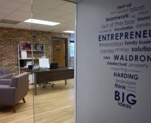 Waldron Center hosts small-business workshop