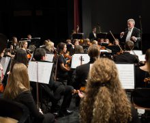 Department of music presents free orchestra concert