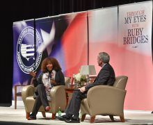 ASI concludes Distinguished Lecture Series with Ruby Bridges