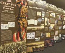 Brackett Library hosts World War I exhibit