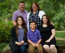 Baker family named Foster Family of the Year