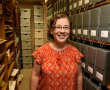 Hannah Wood receives archivist certification
