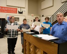Honor Choir draws students for a week of music, choreography & theatre