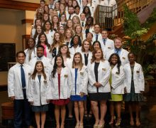 College of Pharmacy inducts new class of students in white coat ceremony