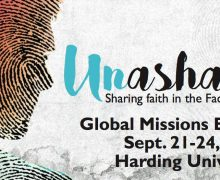 Global Missions Experience to begin Sept. 21