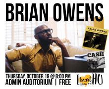 Brian Owens to perform free concert Oct. 19