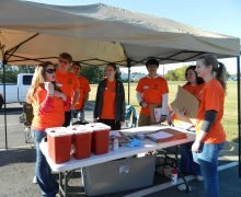 Pharmacy students partner with community to host annual medication cleanout