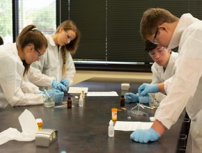 College of Pharmacy hosts summer camp for high school students