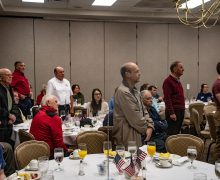 ASI honors local veterans at annual breakfast