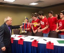 Quiz Bowl team wins Junior National Academic Championship