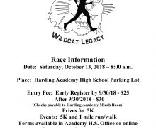 Academy hosts eighth annual Micah Rine Wildcat Legacy Race