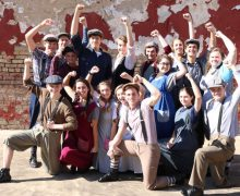 Harding Academy performs 'Newsies'