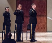 Army ROTC cadets commissioned, Lt. Gov. Tim Griffin speaks