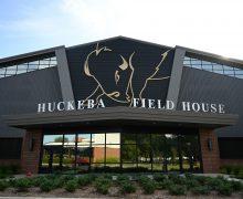 Indoor football facility dedicated in honor of longtime football head coach Ronnie Huckeba