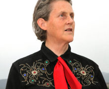 Temple Grandin shares the influence of autism on her professional career at American Studies Institute distinguished lecture series