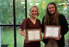 Honors College presents Trey Carlock Rising Scholar Award to students for academic research
